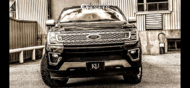 """2018 Ford Expedition - 22x9 0mm - Factory Reproductions Fr10 - Suspension Lift 3"""" - 285/50R22"""