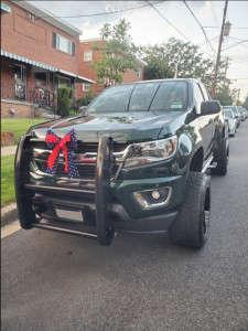 "2016 Chevrolet Colorado - 20x12 -44mm - American Offroad A106 - Suspension Lift 6"" - 31"" x 11.5"""