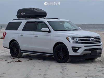 2018 Ford Expedition - 22x9.5 35mm - Raceline Impulse - Stock Suspension - 285/45R22