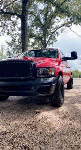 2005 Dodge Ram 1500 - 17x9 -12mm - Tis 544bm - Stock Suspension - 165/9.5R17