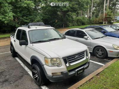 2007 Ford Explorer Sport Trac - 20x10 -24mm - Bold Bd003 - Stock Suspension - 255/35R20