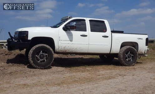 """2009 Chevrolet Silverado 1500 - 18x9 10mm - Ultra Colossus - Suspension Lift 6.5"""" - 35"""" x 12.5"""""""