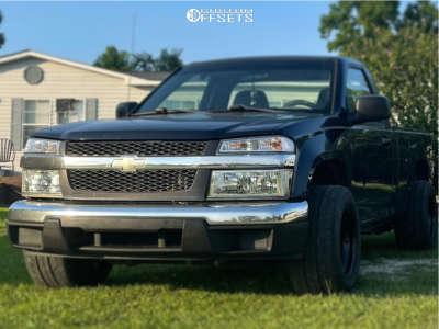 "2008 Chevrolet Colorado - 15x10 -38mm - Bart Bart - Stock Suspension - 26"" x 11.5"""