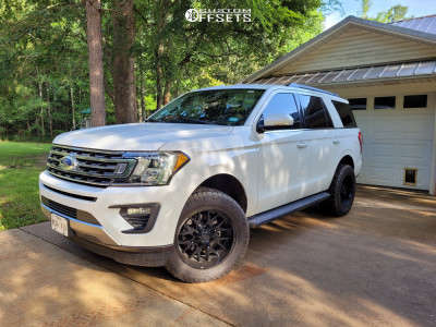 """2019 Ford Expedition - 20x10 -19mm - Hardrock Affliction - Suspension Lift 3"""" - 33"""" x 12.5"""""""