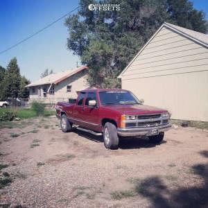 1994 Chevrolet K1500 - 18x18 0mm - Incubus Origin - Leveling Kit - 265/65R18