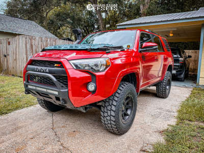"2017 Toyota 4Runner - 17x8 0mm - Icon Alloys Rebound - Suspension Lift 3.5"" - 285/70R17"