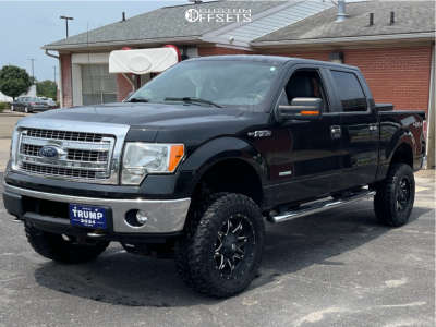 """2014 Ford F-150 - 20x10 -24mm - Fuel Lethal - Suspension Lift 6"""" - 35"""" x 12.5"""""""