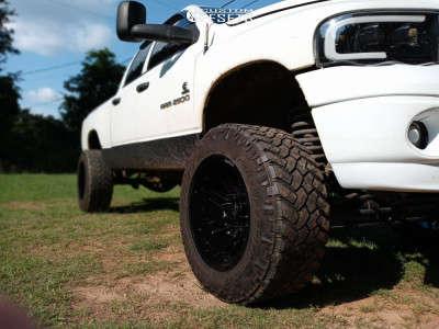 "2005 Dodge Ram 2500 - 20x12 -51mm - ARKON OFF-ROAD Davinci - Suspension Lift 6"" - 35"" x 12.5"""