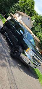 "2013 Chevrolet Silverado 1500 - 20x10 -12mm - Wicked Offroad W903 - Suspension Lift 2.5"" - 285/55R20"