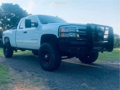 "2008 Chevrolet Silverado 1500 - 17x9 18mm - XD Xd 975 - Suspension Lift 6"" - 35"" x 12.5"""