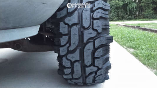 """1999 Ford Ranger - 15x10 -33mm - Ion Alloy 171 - Leveling Kit - 33"""" x 12.5"""""""