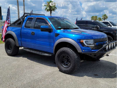 """2010 Ford F-150 - 17x8.5 0mm - Pro Comp Series 51 - Leveling Kit - 35"""" x 12.5"""""""
