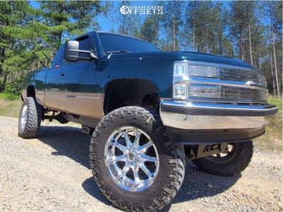 "1995 Chevrolet K1500 - 20x10 -24mm - XD Badlands - Suspension Lift 7"" & Body 3"" - 37"" x 12.5"""