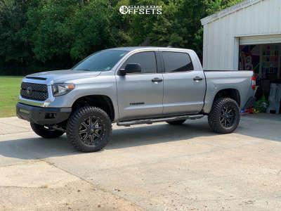 "2021 Toyota Tundra - 20x9 0mm - Fuel Maverick D538 - Suspension Lift 4"" - 35"" x 12.5"""