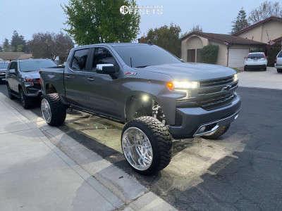 "2019 Chevrolet Silverado 1500 - 26x16 -101mm - Intro ID350 - Suspension Lift 10"" - 37"" x 13.5"""