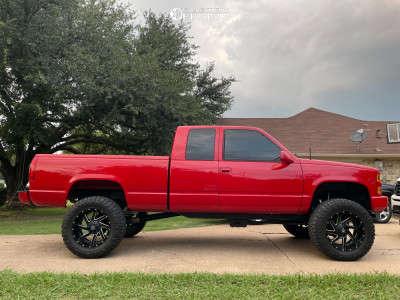 "1996 Chevrolet K1500 - 20x10 -18mm - Fuel Renegade - Suspension Lift 6"" - 35"" x 12.5"""