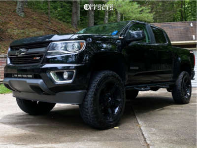 "2015 Chevrolet Colorado - 20x9 0mm - XD Xd811 - Suspension Lift 4"" - 33"" x 12.5"""