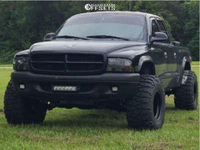 "2003 Dodge Dakota - 15x12 -63mm - Bart Super Trucker - Suspension Lift 3"" - 33"" x 13.5"""