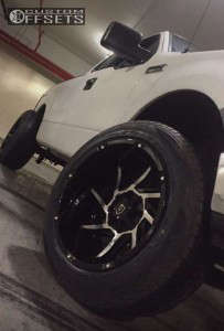 2005 Ford F-150 - 20x12 -51mm - Vision Prowler - Leveling Kit - 275/55R20