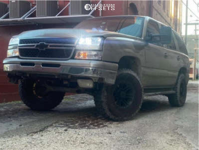 "2003 Chevrolet Tahoe - 16x8.5 6mm - MB Tko - Stock Suspension - 33"" x 8.5"""