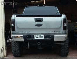 "2009 Chevrolet Silverado 1500 - 20x10 -24mm - Anthem Off-Road Enforcer - Suspension Lift 6"" - 35"" x 12.5"""