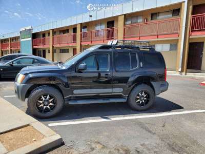 2006 Nissan Xterra - 18x9 -12mm - Panther Offroad 578 - Stock Suspension - 275/70R18