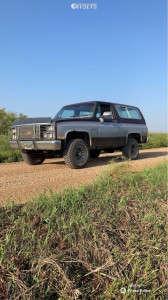 "1983 Chevrolet K5 Blazer - 15x9 0mm - Western Hurricanes - Stock Suspension - 31"" x 10.5"""