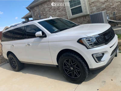 """2018 Ford Expedition - 22x10 10mm - Gear Off-Road Ratio - Leveling Kit - 35"""" x 55"""""""