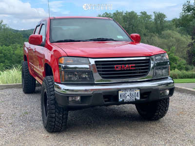 "2012 GMC Canyon - 16x8 1mm - Fuel Anza - Leveling Kit - 31"" x 10.5"""