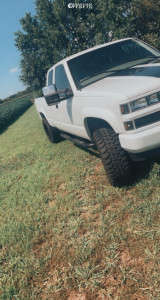 "1997 Chevrolet K1500 - 20x10 -25mm - Vision Spyder - Suspension Lift 3"" - 33"" x 12.5"""