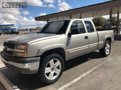 "2003 Chevrolet Silverado 1500 - 22x9 0mm - Oe Performance 147 - Leveling Kit - 35"" x 12.5"""