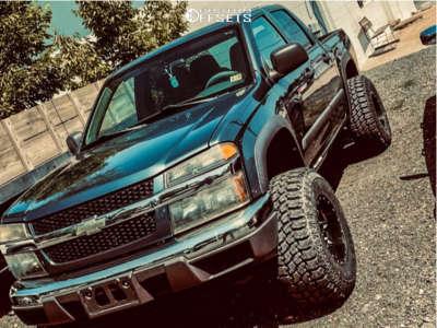 """2006 Chevrolet Colorado - 15x10 -24mm - Fuel Lethal - Suspension Lift 4"""" - 32"""" x 12.5"""""""