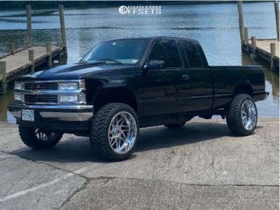 "1998 Chevrolet K1500 - 22x12 -44mm - Gear Off-Road 761c - Body Lift 3"" - 33"" x 12.5"""