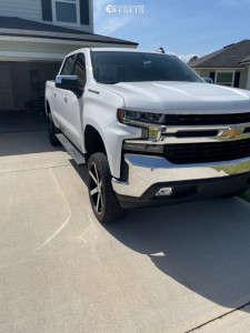 """2021 Chevrolet Silverado 1500 - 22x9 25mm - Ravetti M3 - Suspension Lift 6"""" - 305/40R22"""