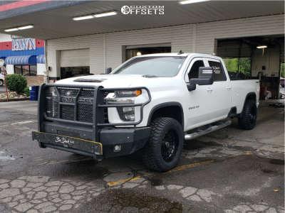 "2021 Chevrolet Silverado 2500 HD - 20x10.5 -18mm - Anthem Off-Road Viper - Leveling Kit - 35"" x 12.5"""