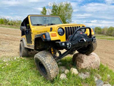 "2006 Jeep TJ - 15x8 -24mm - Method Double Standard - Suspension Lift 3.5"" - 33"" x 12.5"""