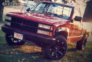 1990 Chevrolet K1500 - 20x9 0mm - Ballistic Jester - Leveling Kit - 275/60R20