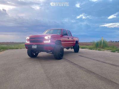 "2006 Chevrolet Silverado 1500 HD - 22x14 -81mm - ARKON OFF-ROAD Lincoln - Suspension Lift 6"" - 35"" x 12.5"""