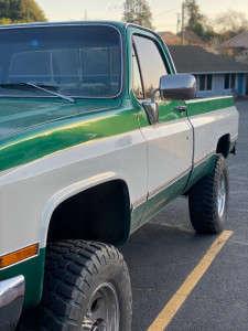 """1986 Chevrolet K20 - 18x11 0mm - Pro Comp Series 69 - Suspension Lift 2.5"""" - 35"""" x 12.5"""""""