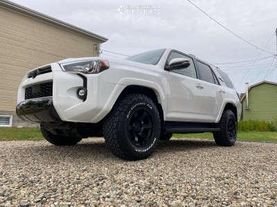 2021 Toyota 4Runner - 17x9 -12mm - Fuel Rush - Stock Suspension - 265/70R17