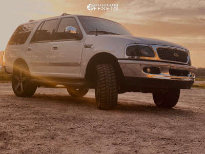 """1998 Ford Expedition - 22x10 -24mm - Giovanna Dublin 5 - Stock Suspension - 33"""" x 12.5"""""""