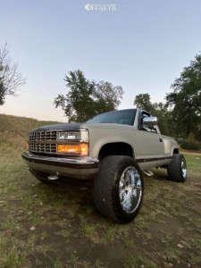 "1990 Chevrolet K1500 - 20x12 -44mm - XD Riot - Stock Suspension - 33"" x 12.5"""