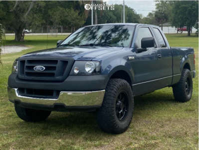 """2005 Ford F-150 - 17x12 0mm - Gear Alloy - Leveling Kit - 35"""" x 12.5"""""""