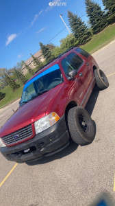 2004 Ford Explorer - 16x8 0mm - Vision D Window - Stock Suspension - 245/75R16