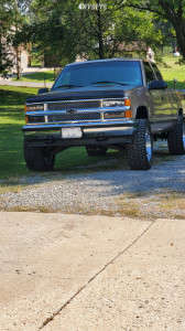"1996 Chevrolet K1500 - 20x10 -29mm - Vision 360 - Suspension Lift 3"" - 33"" x 12.5"""