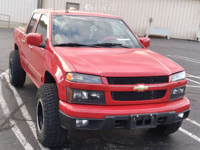 2012 Chevrolet Colorado - 16x10 -38mm - Alloy Ion 174 - Stock Suspension - 265/75R16