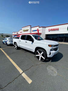 "2021 Chevrolet Silverado 1500 - 28x10 30mm - Strada Perfetto - Leveling Kit - 31"" x 10.5"""