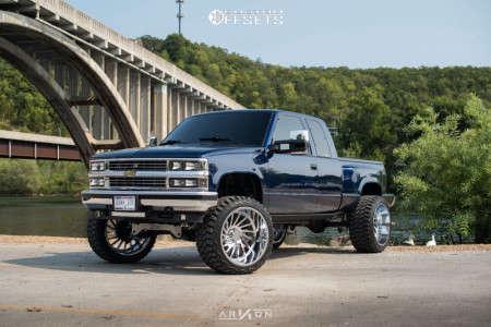 "1995 Chevrolet K1500 - 24x14 -81mm - ARKON OFF-ROAD Caesar - Suspension Lift 6"" - 35"" x 15.5"""