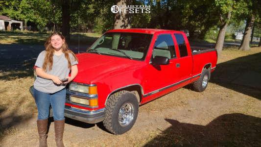 "1997 Chevrolet C1500 - 15x8 9mm - Ultra 164 - Stock Suspension - 29"" x 9.5"""