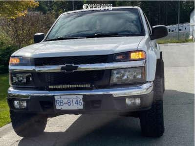 """2005 Chevrolet Colorado - 15x9 20mm - American Racing Ar172 - Suspension Lift 3"""" - 31"""" x 10.5"""""""